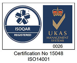 ISO:14001 Environmental accredited company